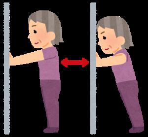 身体の軸を作る